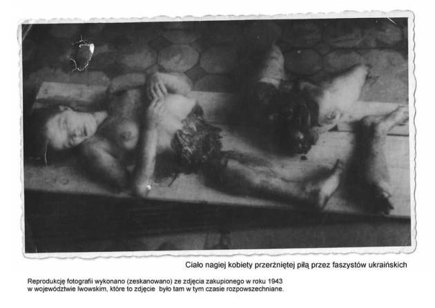 Młoda Polka - ofiara rzezi wołyńskiej (materiał zaczerpnięty ze strony http://blogmedia24.pl/node/63151)