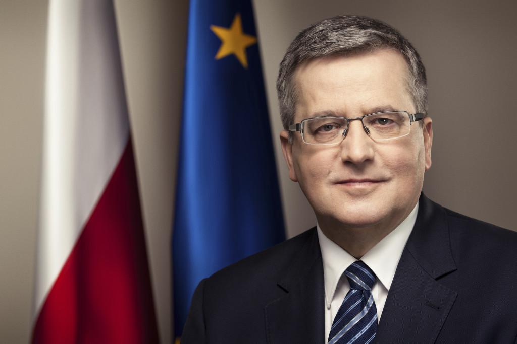 Prezydent Bronisław Komorowski (źródło: prezydent.pl)
