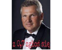 Czy Aleksander Kwaśniewski będzie mieć własną markę wódki?
