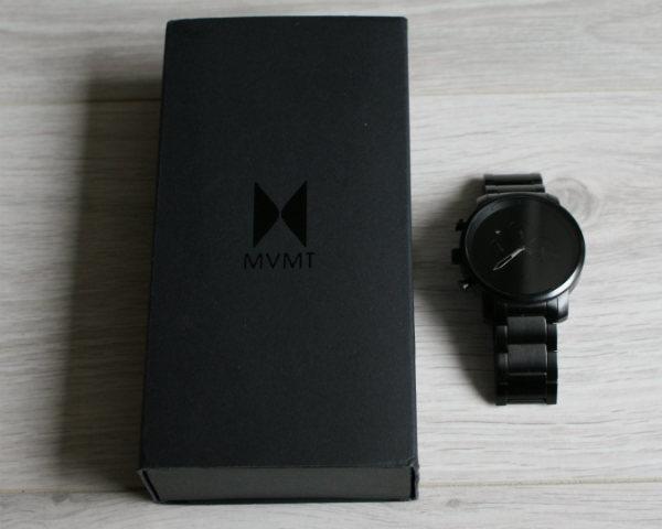 Opakowanie MVMT Chrono Black Leather