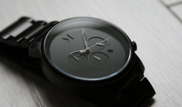 Mój zegarek MVMT All Chrono Black